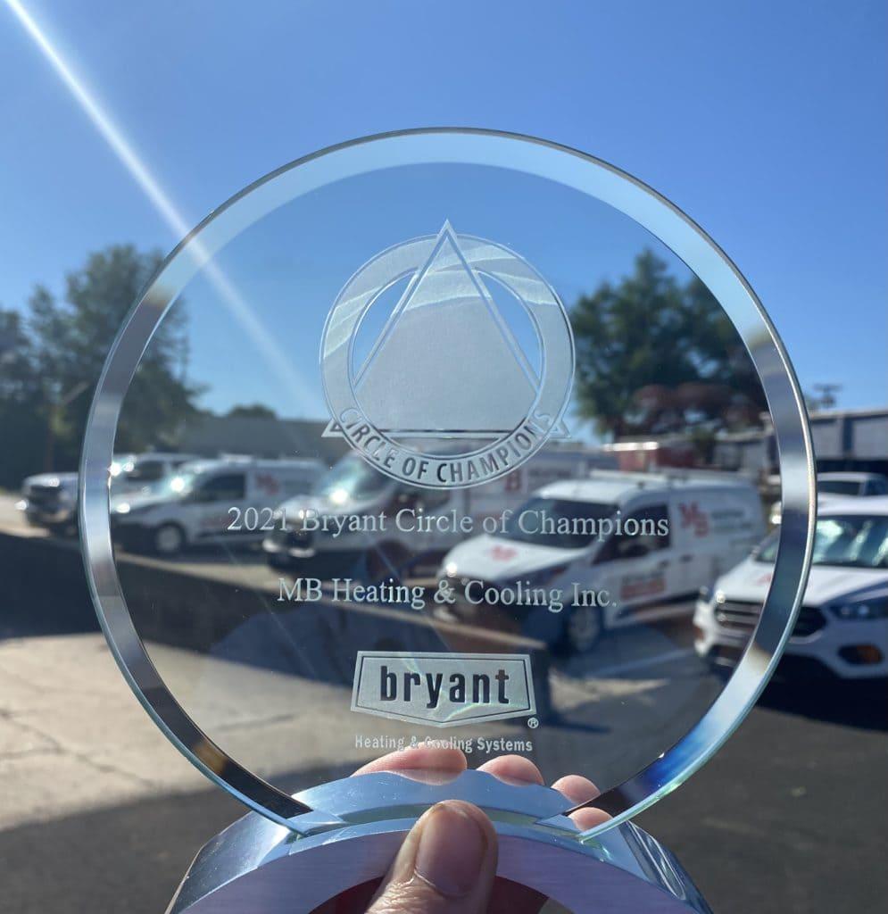 MBH Award from Bryant